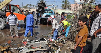 Car bombs cap week of violence that underscores Iraq's fragility
