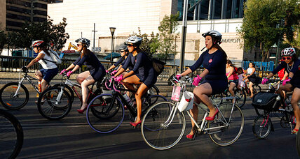 Today, we ride: Women join Mexico City's cycling revolution