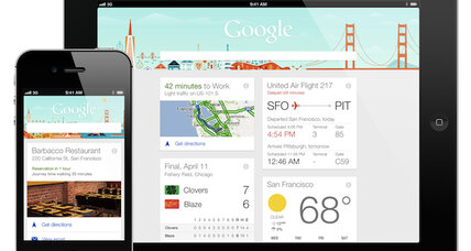 Move over, Siri. Google Now is coming to the iPhone, iPad.