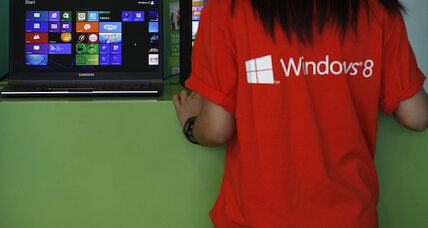 PC shipments slump, Windows 8 may be to blame
