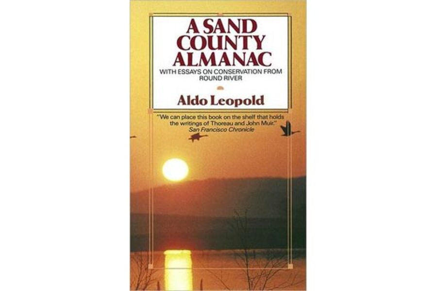 The environmental impact of societal actions in a sand county almanac