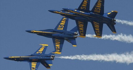 Air shows cancelled: Blue Angels, Thunderbirds grounded by sequester (+video)