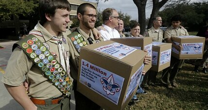 Mormon Church to accept gay Boy Scouts