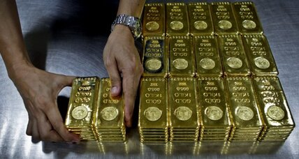 Gold price: biggest tumble in 30 years