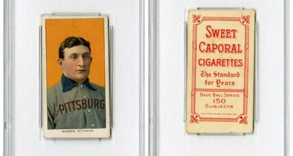 Honus Wagner baseball card fetches $2.1 million