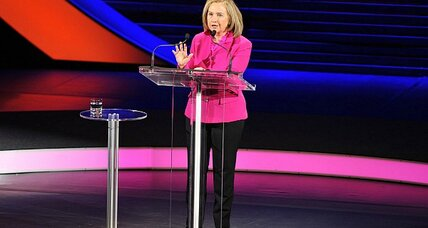 'President Hillary Clinton?' In mock election, she wallops the competition. (+video)