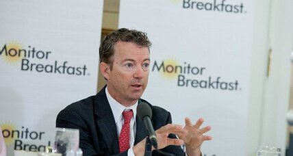 Sen. Rand Paul wants the big microphone of a 2016 presidential run