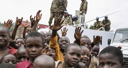 Do African nations have an ulterior motive in joining UN Congo brigade?