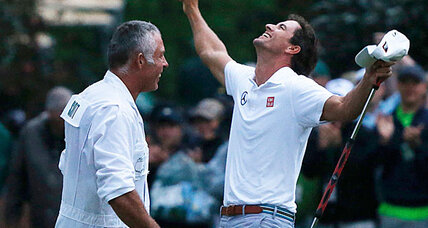Adam Scott: First Australian to win the Masters golf tournament