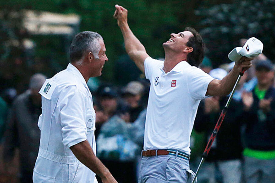 Adam Scott First Australian To Win The Masters Golf Tournament