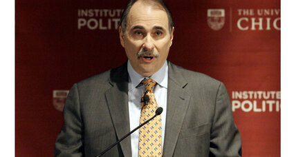David Axelrod will publish a memoir in 2014