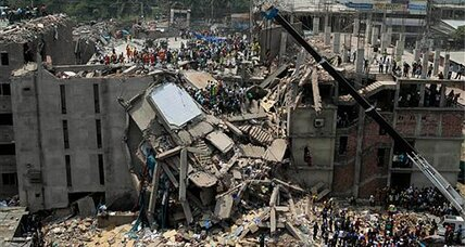 Survivors found trapped in collapsed Bangladesh factory