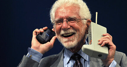 The cellphone revolution kicked off 40 years ago today