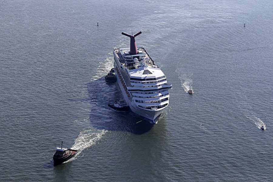 Carnival Cruise Ship Fails Health Inspection Why CSMonitorcom - Cruises out of alabama