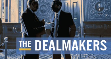 How dealmaking gets done on Capitol Hill