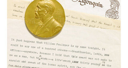 William Faulkner's Nobel prize, papers come to auction