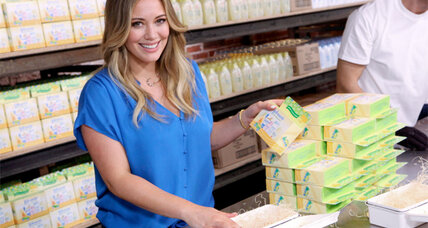 Hilary Duff will play Ashton Kutcher's love interest on 'Two and a Half Men'