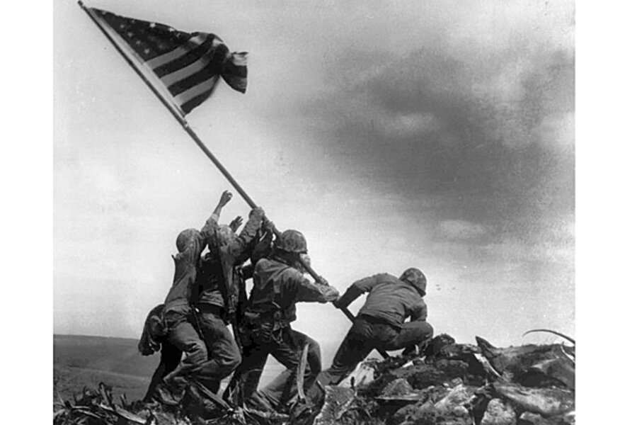 Alan Wood dies, leaves legacy of Iwo Jima flag - CSMonitor.com