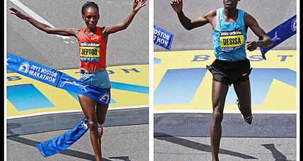 Boston Marathon winners: An Ethiopian and a Kenyan
