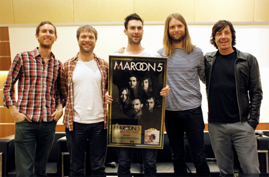 a description of the band maroon Upc 6940747242278 pop band maroon 5 adam levine sexy design custom rectangle pillow case 16x24 (one side) info, barcode, images, gtin registration .