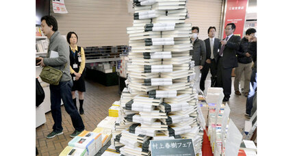 Haruki Murakami's new novel becomes an instant bestseller in Japan