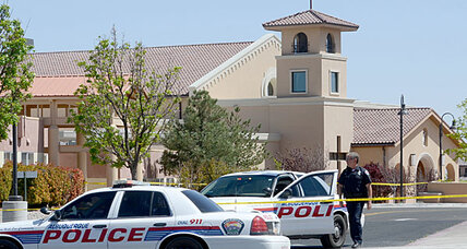 New Mexico church stabbing leaves four in choir wounded