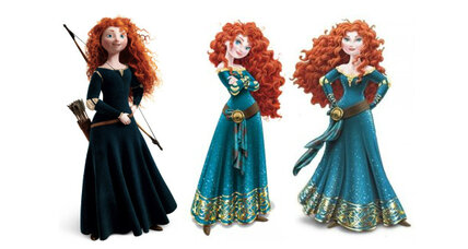 Disney Princess Merida makeover: A 7-year-old's verdict on the 'Brave' heroine