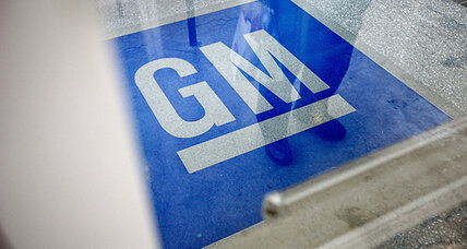 General Motors signs call for climate change action