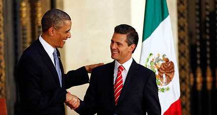 Obama in Mexico: Little talk of human rights