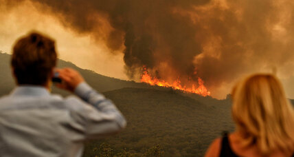 California wildfire 30 percent contained as temperatures drop
