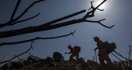 California wildfire: 1,900 on the lines as firefighters labor to limit damage (+video)