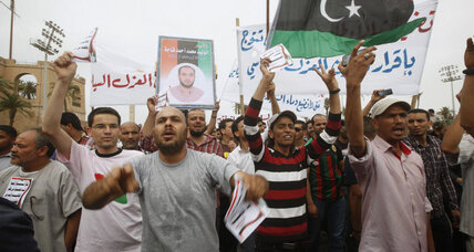 New Libyan law bans senior Gaddafi officials from future office