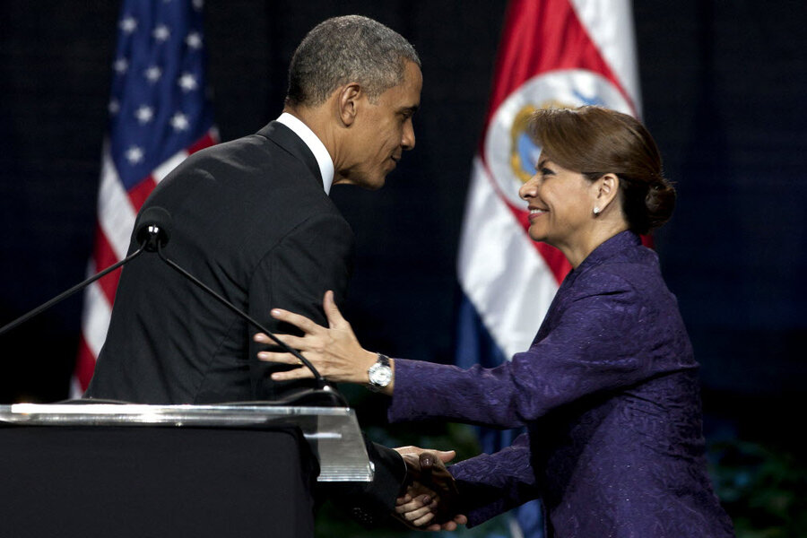 Costa rica doubles down on security csmonitor for obama costa rica offered rare safe bet trip m4hsunfo