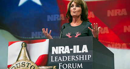Sarah Palin's chaw: Why did she wave chewing tobacco during NRA speech? (+video)