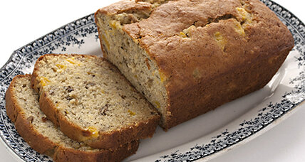 Easy as, well, mango banana bread