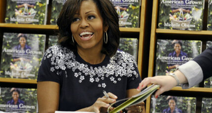 Michelle Obama back on book tour. How successful are first lady authors?