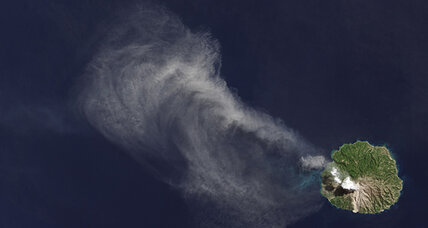 NASA satellite snaps spectacular images of volcanic eruption