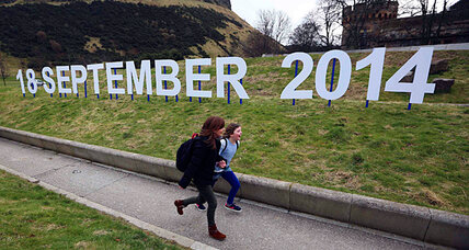 Aye or nae? Scottish teens will vote on independence