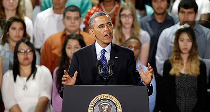In Texas, Obama lauds 'New Tech' high school. Model for the future? (+video)