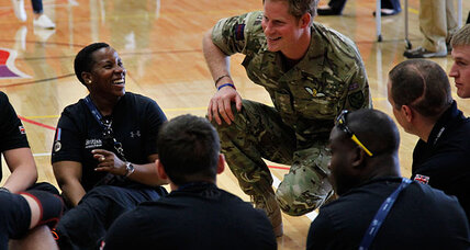 Prince Harry can be 'too much army' at Warrior Games – and not embarass anyone (+video)