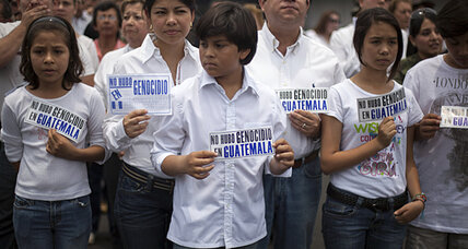 What will the Rios Montt genocide conviction do for Guatemala?