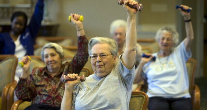 Cane-fu and '50s music: Special gyms open up for US baby boomers