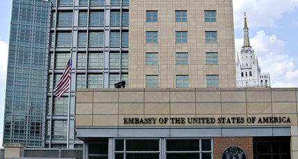 Russia arrests US diplomat accused of spying