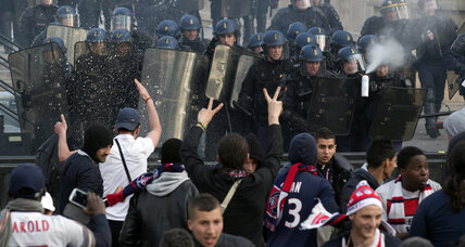 Paris riots mar soccer victory celebrations, prompt ceremony cancellation