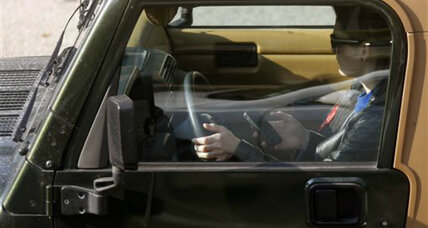 Texting and driving: Cell rivals join campaign about dangers of own product