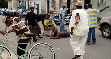 Mother's Day shooting in New Orleans tests violent 'street code'