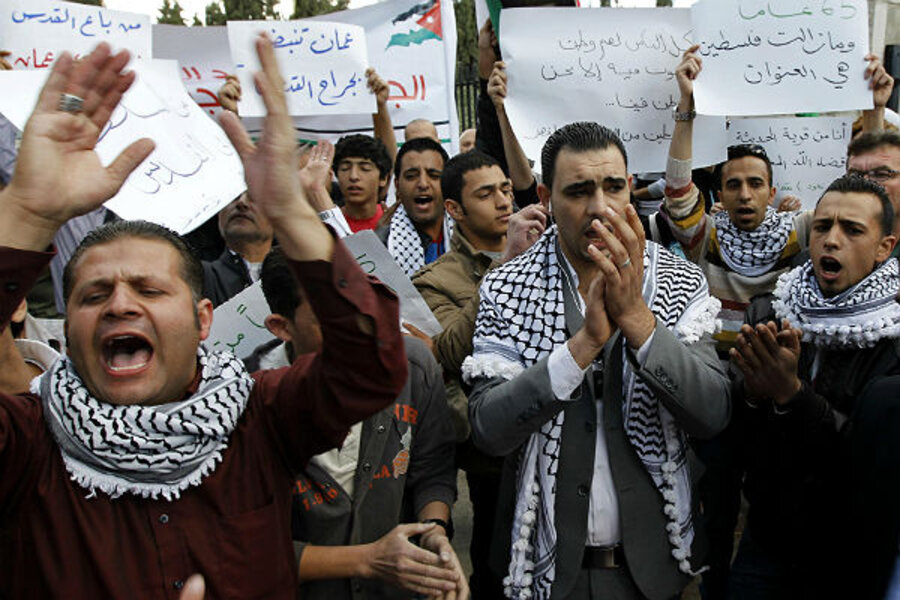 Palestinian protests mark the anniversary of Israel's ...