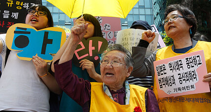 Japanese politicians scramble to distance themselves from 'comfort women' comments