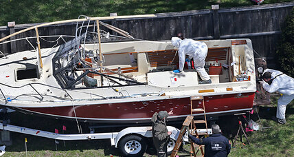 Boston bombing suspect reportedly wrote on boat: how it helps prosecution (+video)
