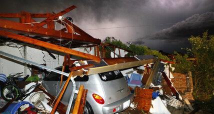 Severe Texas tornadoes 'hopscotch' through rural communities, killing six
